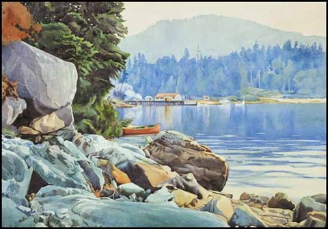 garden bay bc by walter joseph phillips