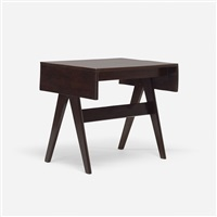 writing table from chandigarh by pierre jeanneret