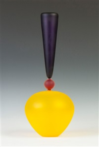 formulation series, blown glass vase by jay macdonell