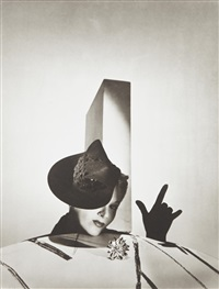 i love you - lisa fonssagrives with hat by balenciaga and gloves by boucheron, paris by horst p. horst