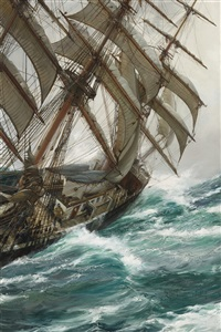wind in the rigging by montague dawson