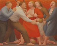 confrontation by george tooker