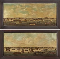 panoramic landscapes (pair) by youqua