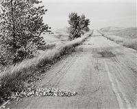 nebraska state highway 2, box butte county, nebraska by robert adams