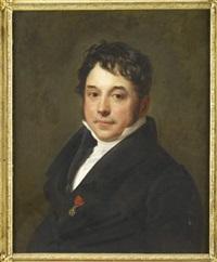 portrait d'homme portant la légion d'honneur by pauline auzou