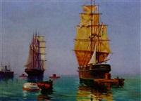 segelboote by viktor gutmann