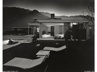 kaufmann house, palm springs, richard neutra, architect by julius shulman
