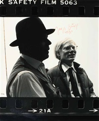new york, 1979 by zoa and joseph beuys