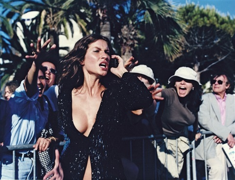 gisele bündchen cannes for vogue italia by michel comte