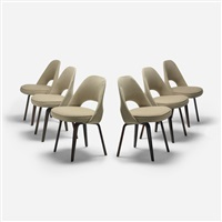 chairs (set of 6) by eero saarinen