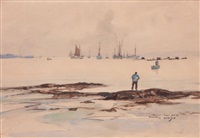 camaret, temps gris by pierre brette