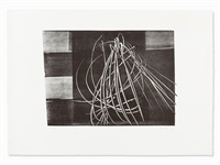 lithograph by hans hartung