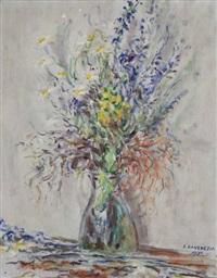 vaso di fiori by eugenio da venezia