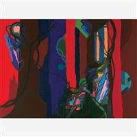 red woods by franz ackermann
