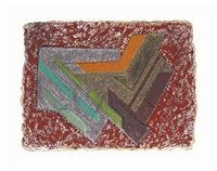 bogoria iii (polish village series) by frank stella