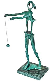 homage to newton by salvador dalí