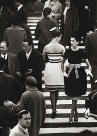 nina + simone, piazza di spagna, rome (vogue) by william klein
