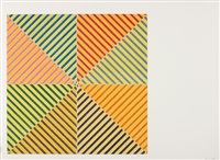sidi ifni, from hommage à picasso by frank stella