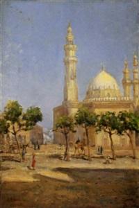 scorcio del cairo, 1914 by alfredo campajola