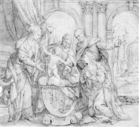 the mystic marriage of saint catherine by benedetto caliari