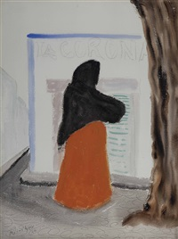 mexican woman by milton avery