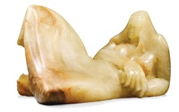 reclining girl by sven berlin