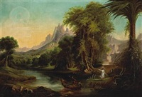 the voyage of life, youth by thomas cole