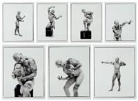 anatomie artistique de l'homme (portfolio of 8) by jean-luc verna