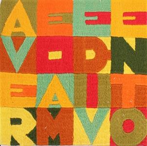 artwork by alighiero boetti