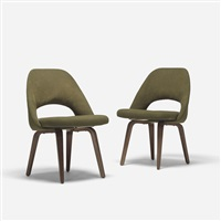 executive chairs (pair) by eero saarinen