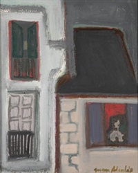 ventana roja by juan alcalde