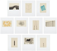 coyote stories portfolio (set of 10) by chris burden