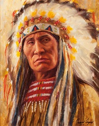 lakota leader by james ayers