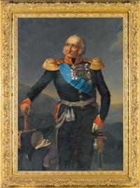 portrait of prince petr khristianovich wittgenstein (1769-1843) by franz krüger