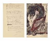 chansons pour elle (bk by paul verlaine w/9 works) by emile antoine coulon