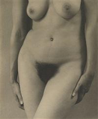 georgia o'keeffe (nude study) by alfred stieglitz