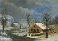 winter by robert scott duncanson