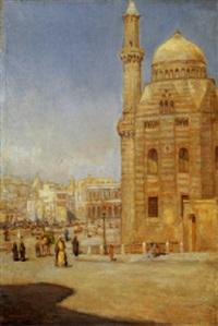 vita al cairo, 1914 by alfredo campajola