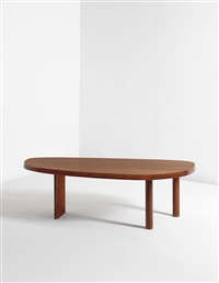 free-form table by charlotte perriand
