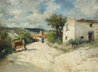paysage by julien gustave gagliardini