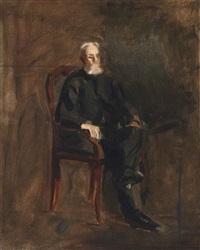 portrait of robert c. ogden (study) by thomas eakins