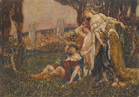 fortune and the sleeping shepherd by noel laura bush