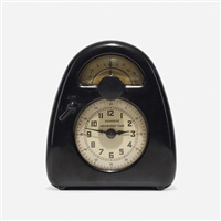 measured time clock and kitchen timer by isamu noguchi