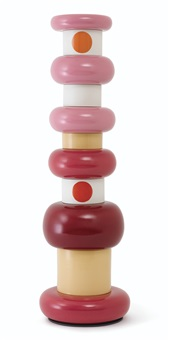 flavia series - totem no. 1 (in 11 parts) by ettore sottsass