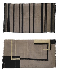 rugs (set of 2) by walter gropius
