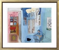 l'atelier de l'impasse guelma by raoul dufy