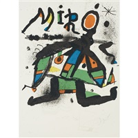 poster for miro exhibition, galerie maeght, paris by joan miró