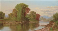 river scene by robert scott duncanson