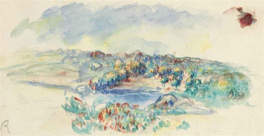 paysage by pierre auguste renoir