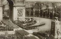 les fêtes de la victoire. 14 juillet 1919 (16 works) by m. leon & j. levy